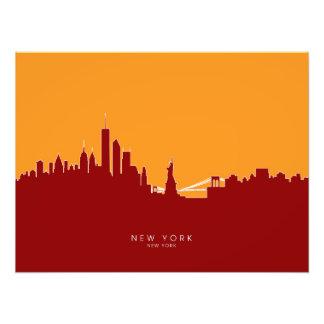 New York Skyline Art Photo