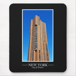 New York Skyline Photograph Frame Personalize Mouse Pad