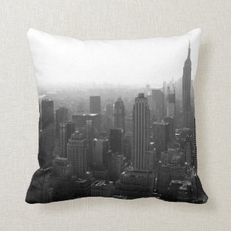 New York Skyline Throw Pillows