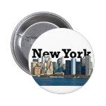New York Skyline Pins