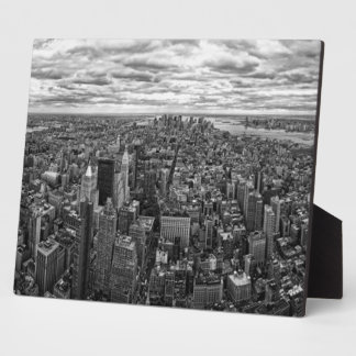 New York Skyline Plaque