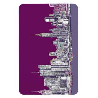 New York skyline Magnet