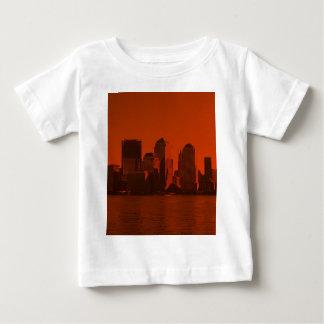 new york, skyline, red t shirt