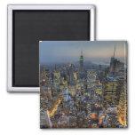 New York Skyline Refrigerator Magnets