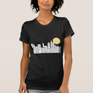 New York Skyline Silhouette T-Shirt
