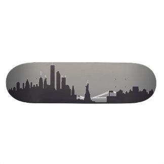 New York Skyline Skate Board Decks