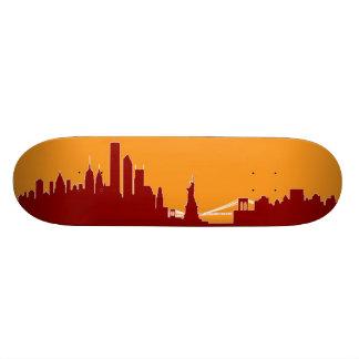 New York Skyline Skate Decks