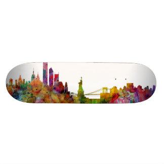 New York Skyline Skateboard Decks