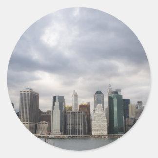 New York Skyline stickers