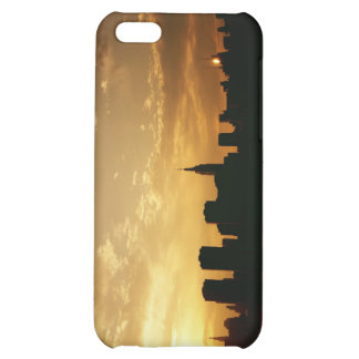 New York Skyline Sunset Cover For iPhone 5C