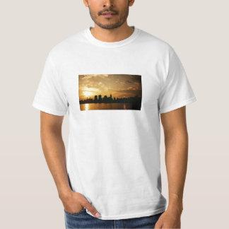 New York Skyline Sunset T-Shirt