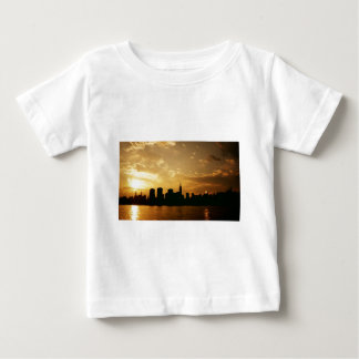 New York Skyline Sunset T Shirt