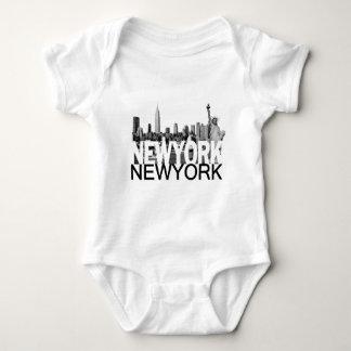 New York Skyline Tee Shirt