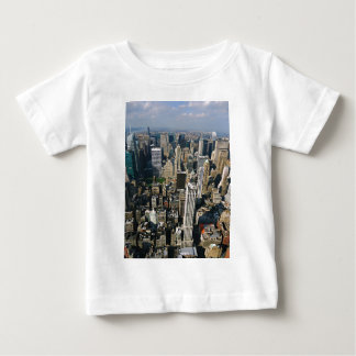 New York Skyline view from Empire State Building Tshirts