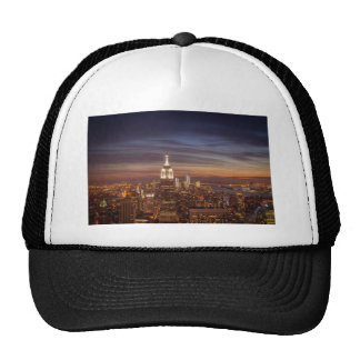 New York Skyline with the Empire State Building an Trucker Hat