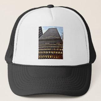 New York Skyscraper at Dusk Photo Print Trucker Hat