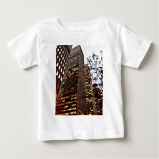 New York Skyscrapers at Dusk Baby T-Shirt