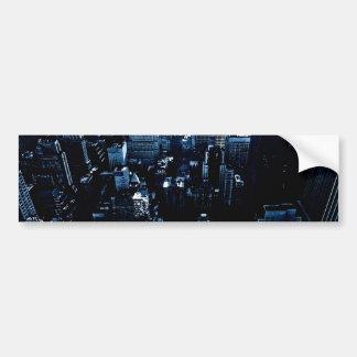 New York Skyscrapers Bumper Sticker