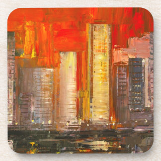 New York Skyscrapers Coaster set of 6