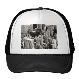 New York Skyscrapers From Above Hat