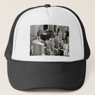 New York Skyscrapers From Above Trucker Hat