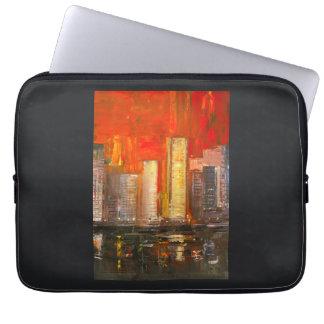 "New York Skyscrapers Laptop Sleeve 13"""