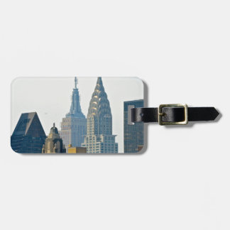 New York Skyscrapers Bag Tags