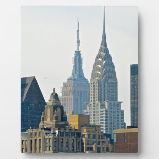 New York Skyscrapers Plaques