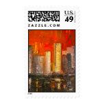 New York Skyscrapers Postage Selos Personalizados