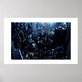 New York Skyscrapers Poster Print