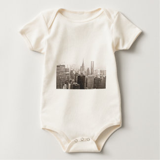New York Snow Baby Bodysuit