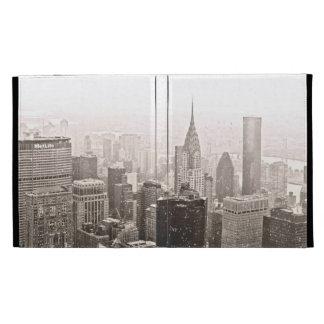 New York Snow iPad Folio Case