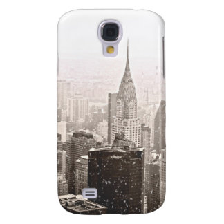 New York Snow Galaxy S4 Cover
