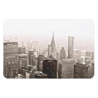 New York Snow Magnet