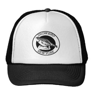 New York Snowbird Shield Trucker Hat