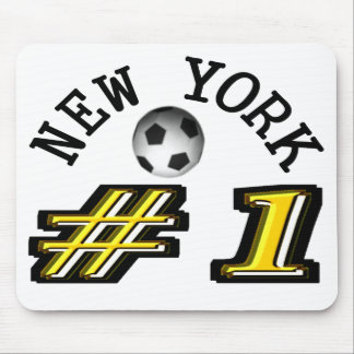 New York Soccer Number 1 Mouse Pad
