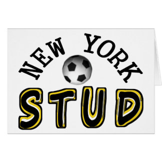 New York Soccer Stud Card