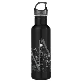 New York Souvenir Cool NYC Stainless Steel Water Bottle