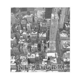 New York Souvenir Notepad Retro NYC View Gift