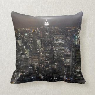 New York Souvenir Pillow NY Cityscape Pillow