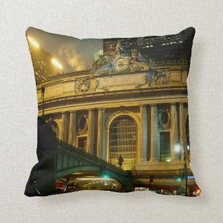 New York Souvenir Pillow NY Grand Central Pillow