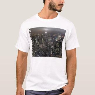 New York Souvenir T-shirt Cityscape New York Shirt