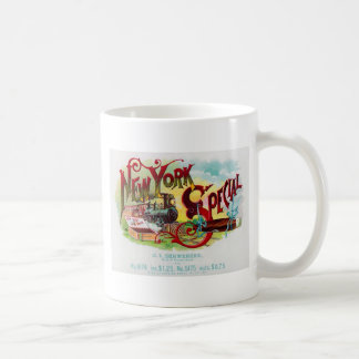New York Special vintage cigar label Coffee Mug