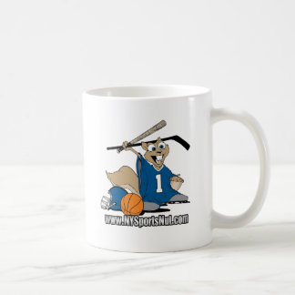 New York Sports Nut Classic White Coffee Mug