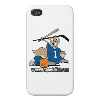 New York Sports Nut Cover For iPhone 4