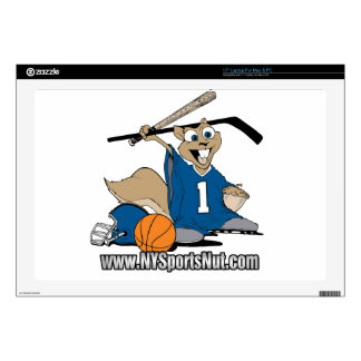 New York Sports Nut Decal For Laptop