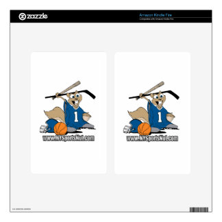 New York Sports Nut Decals For Kindle Fire