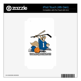New York Sports Nut iPod Touch 4G Skin