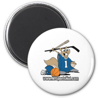 New York Sports Nut Magnets