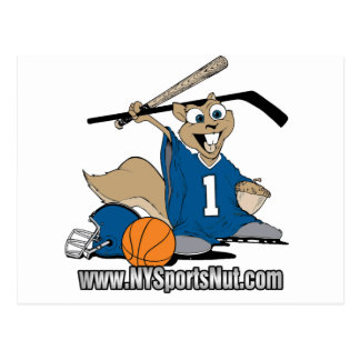New York Sports Nut Postcards